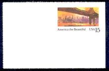 UX141 UPSS# S157-3 15c New York Mint Postal Card