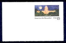 UX142 UPSS# S157-4 15c Washington Mint Postal Card