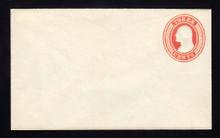 U9 UPSS # 14/T29 3c Red on White, die 5, Mint Entire