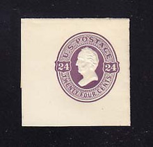 U99 24c Purple on White, Mint Full Corner, 43 x 43