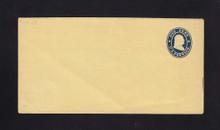 W20 UPSS # 36-0 1c Blue on Buff, die 1, Mint Wrapper, light diagonal bend at left