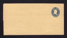 W20 UPSS # 34a 1c Blue on Buff, die 1, Mint Wrapper