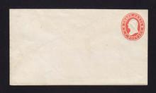 U26 UPSS # 48 3c Red on white Mint Entire