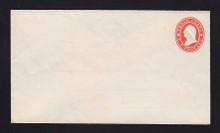 U26 UPSS # 51 3c Red on white Mint Entire