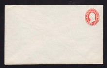 U26 UPSS # 52 3c Red on white Mint Entire