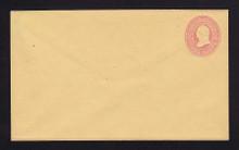 U35 UPSS # 77 3c Pink on Buff, Mint Entire