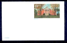 UX175 UPSS# S188 19c Myers Hall, Wittenberg University Mint Postal Card