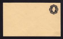 U46 UPSS # 103 2c Black on Buff, die 1, Mint Entire, RARE Knife