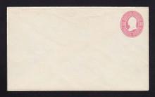 U34 UPSS # 74 3c Pink on White, Mint Entire, RARE Knife