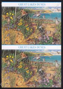 UX539-48 UPSS #553-62 42c Great Lakes Dune Mint Postal Cards