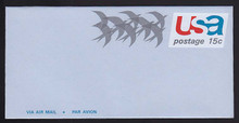 UC44, UPSS #ALS-11 15c Birds in Flight, Mint, FOLDED
