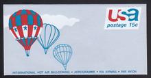 UC46, UPSS #ALS-13 15c Balloons, Mint, FOLDED
