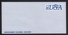 UC51, UPSS #ALS-17 22c USA Blue, Mint, FOLDED