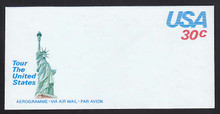 UC54, UPSS #ALS-20 30c Green Liberty, Mint, FOLDED