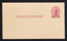 UX34 UPSS# S46-2, San Francisco Press Printed Surcharge, Mint Postal Card