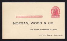 UX32 UPSS# S44-20, Little Rock Surcharge, Unused Postal Card