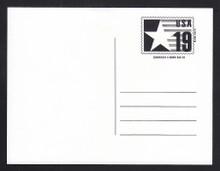 CVUX3, UPSS #PB3a2 19c Postal Buddy, Type C Backside, Mint Postal Card