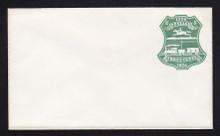 U219 UPSS # 644-3 3c Green on White, die 1, Mint Entire