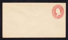 U227 UPSS # 647 2c Red on White, Mint Entire
