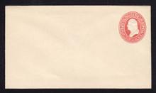 U227 UPSS # 648 2c Red on White, Mint Entire