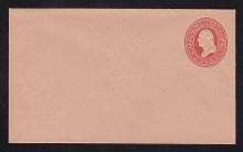 U230 UPSS # 661-6 2c Red on Fawn, Mint Entire