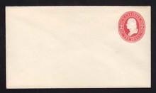 U231 UPSS # 666 2c Red on White, Mint Entire