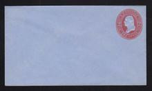 U233 UPSS # 674-5 2c Red on Blue, Mint Entire