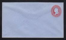 U233 UPSS # 676-5 2c Red on Blue, Mint Entire