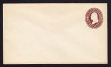 U260 UPSS # 687 2c Brown on White, Mint Entire