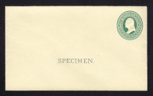 U83, UPSS # 185a Entire, Specimen Form 10