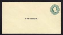 U83, UPSS # 188 Entire, Specimen Form 10, hinges on back