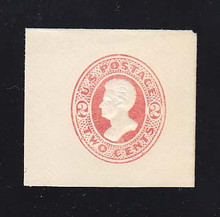 U149 2c Vermillion on White, die 6, Mint Full Corner, 42 x 45