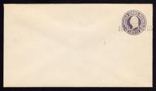 U468e, UPSS #2949b-2 2c on 3c Dark Violet on White, die 1, Mint Entire, TRIPLE Surcharge