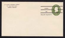 U532b UPSS# 3293-46 1c Green, die 3, Mint Entire, Precanceled