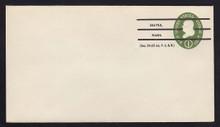 U532b UPSS# 3294a-43 1c Green, die 3, Mint Entire, Precanceled