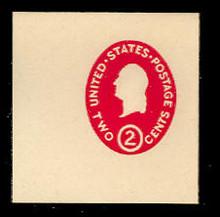 U533a 2c Washington Carmine, die 1, Mint Full Corner
