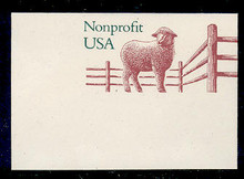 U635 (5c) Sheep Non Profit, Mint Full Corner