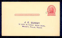 UX32 UPSS# S44-26, Minneapolis Surcharge, Preprinted Postal Card