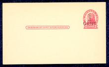 UX33 UPSS# S45-13, Denver Surcharge, Mint Postal Card
