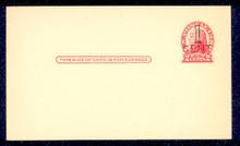 UX33 UPSS# S45-18, Jacksonville Surcharge, Mint Postal Card
