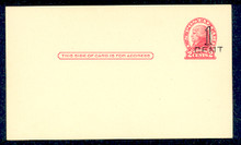 UX33 UPSS# S45-21, Los Angeles Surcharge, Mint Postal Card