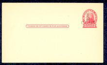 UX33 UPSS# S45-24, Memphis Surcharge, Mint Postal Card