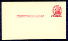 UX33 UPSS# S45-42, Seattle Surcharge, Mint Postal Card