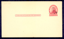 UX33 UPSS# S45-43, Springfield Surcharge, Mint Postal Card