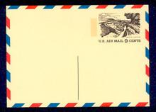 UXC12 UPSS# SA12-1 9c Tourism Grand Canyon Mint Postal Card