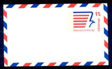 UXC14 UPSS# SA13a 11c Stylized Eagle Mint Postal Card