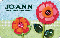 Joann Fabric And Craft Store Gift Card
