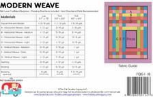 FQG118 Modern Weave Pattern