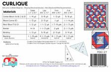 FQG127 Curlique Pattern