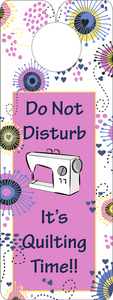 FQG309 Knobie Talk Door Hanger-Do Not Disturb